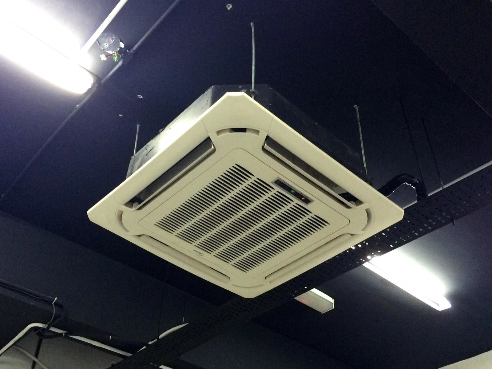 4 Way Split Ceiling Cassette Air Conditioning   Secondhand.my