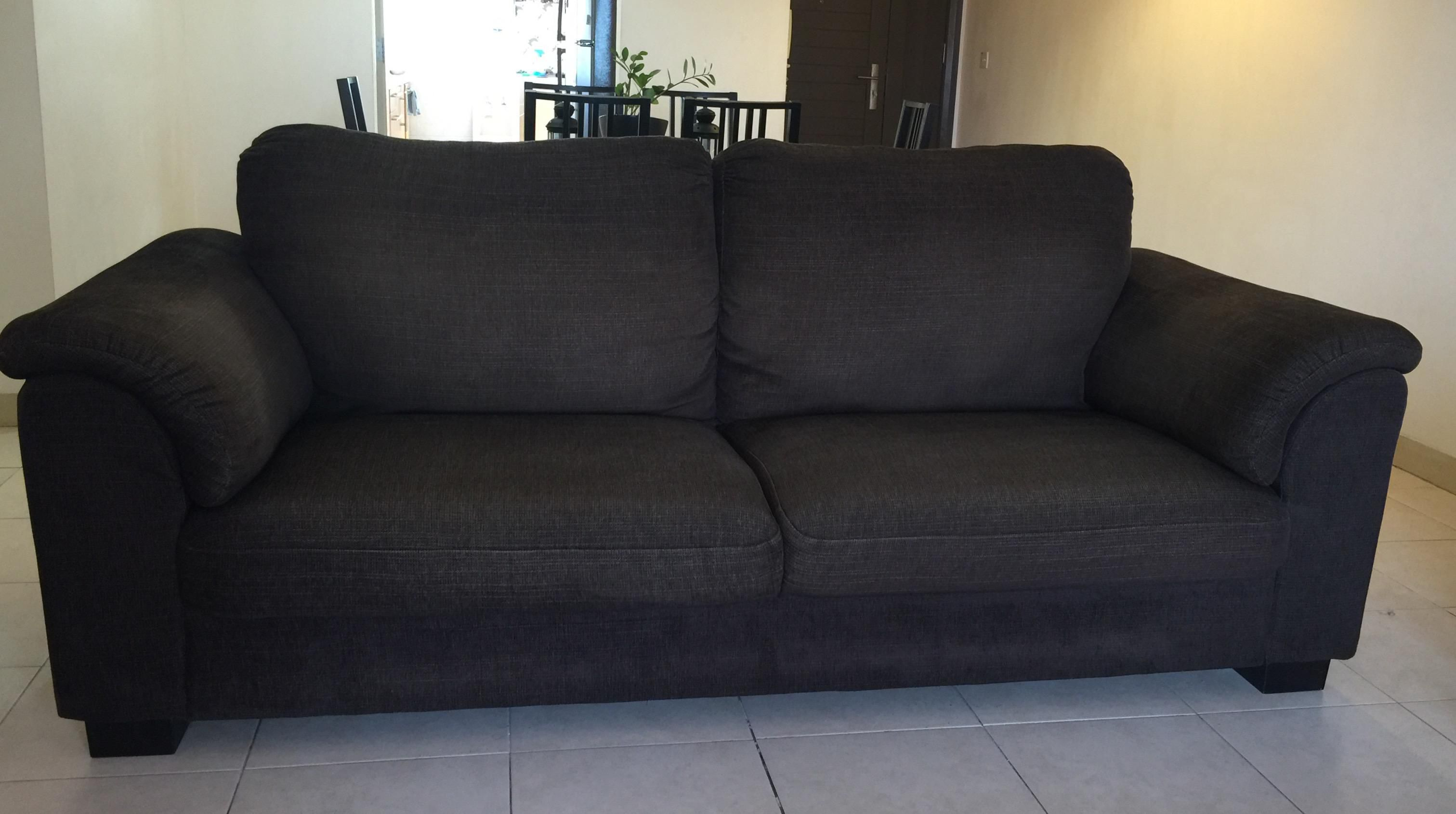 50 off ikea fabric sofa for Ikea sofa set