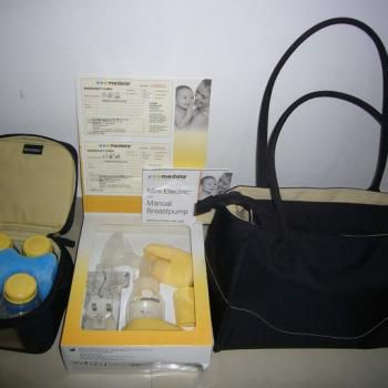 Medela Combo Package Mini Electric Breastpump Citystyle Bag Secondhand My