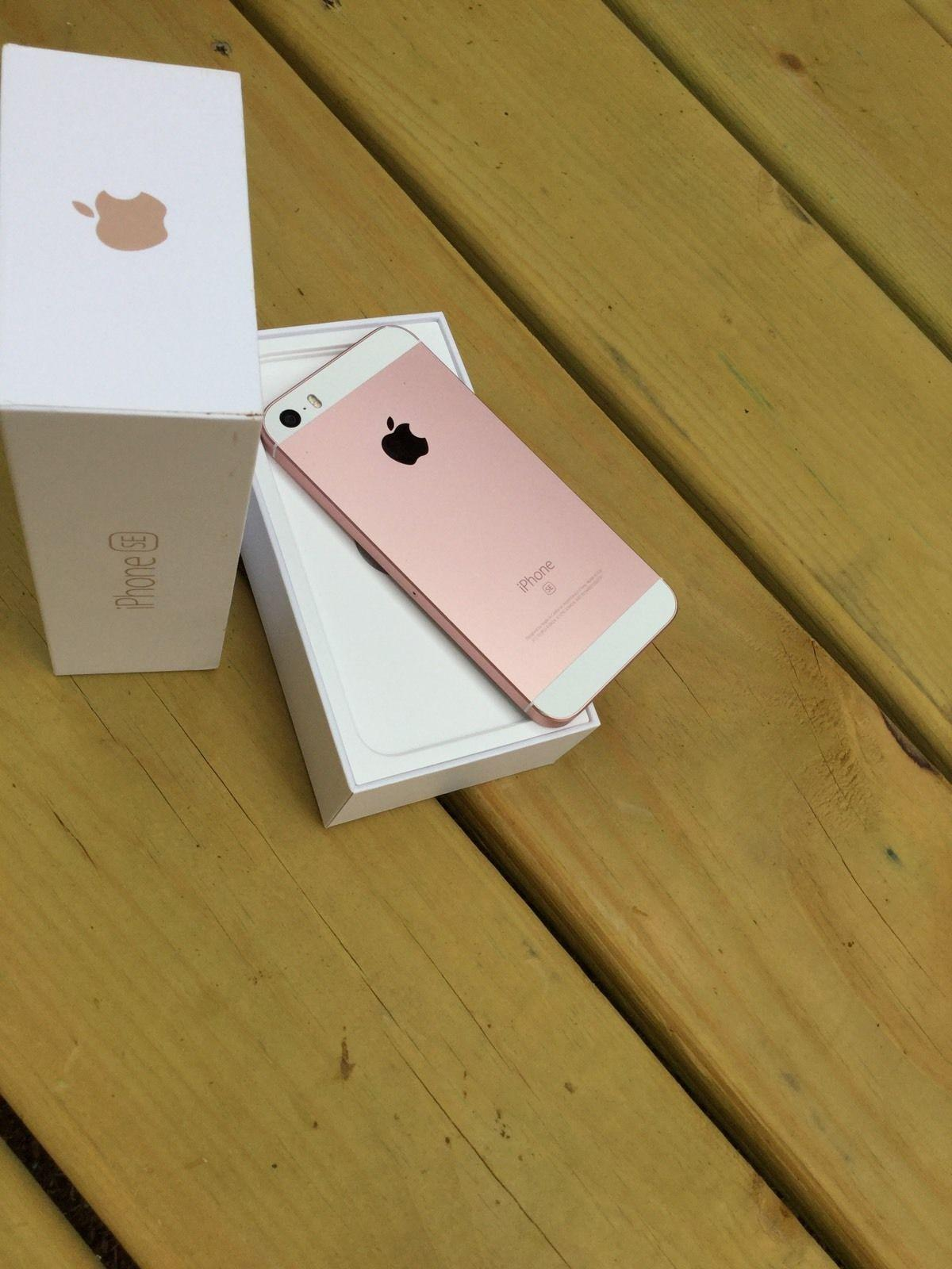 Apple Iphone Se 64gb Rose Gold Secondhand My
