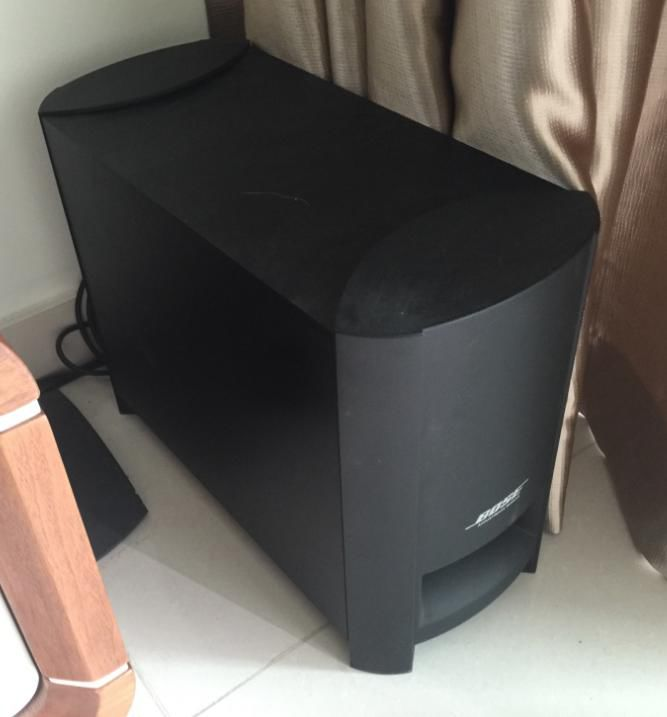 Bose cinemate gs ii home theater speaker system secondhand publicscrutiny Choice Image