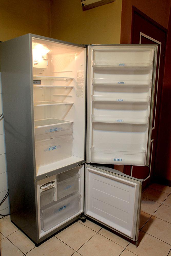 Bottom Freezer Ice Panasonic Fridge Refrigerator