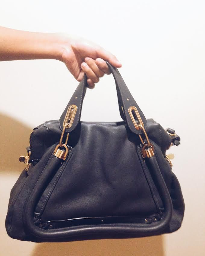 Chloe Paraty - Medium Leather Satchel | Secondhand.my