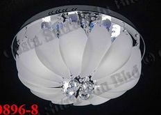 CLEAR STOCK ** NEW SET CRYSTAL CEILING LIGHT-TSW10896