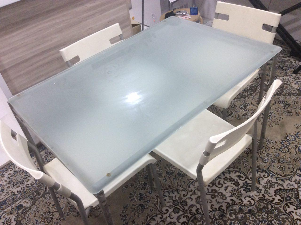 Dining Table With 4 Chairs Available For Sale Location Kuala Lumpur