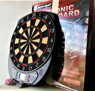 Electronic Dart Board Set LCD Display