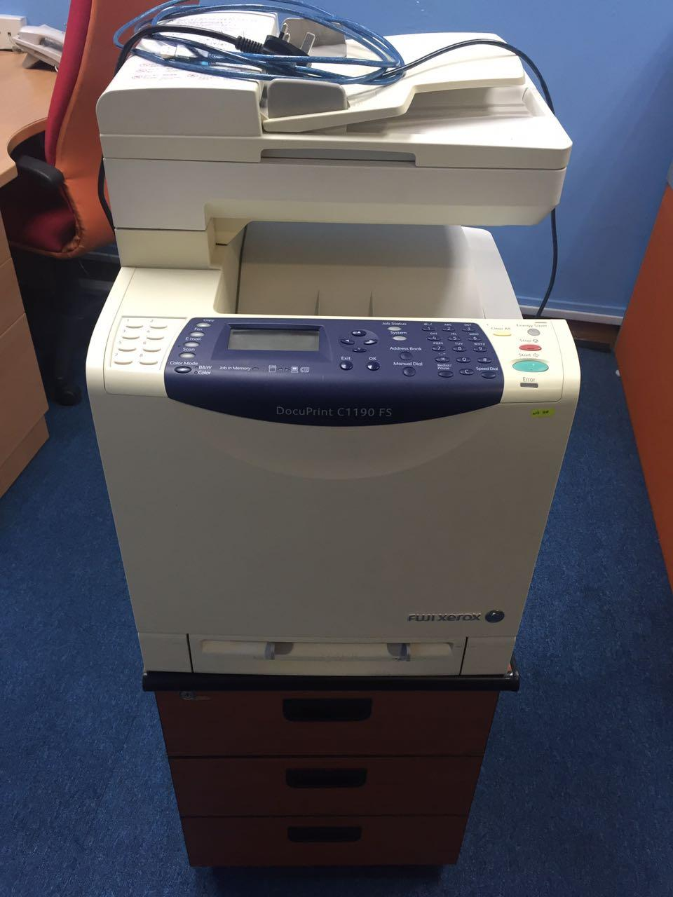 C1190FS PRINTER DRIVERS WINDOWS 7