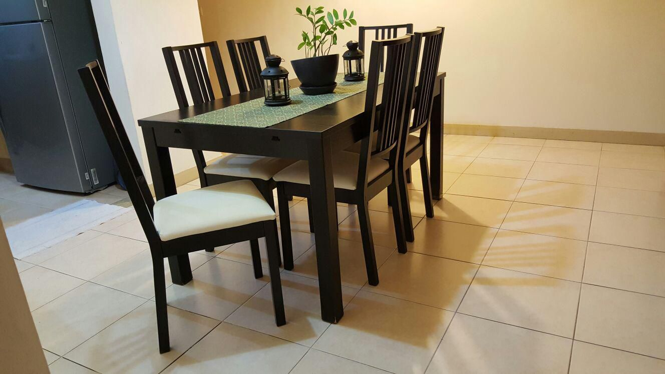Furniture ikea dining set for sale for Dining chairs for sale ikea
