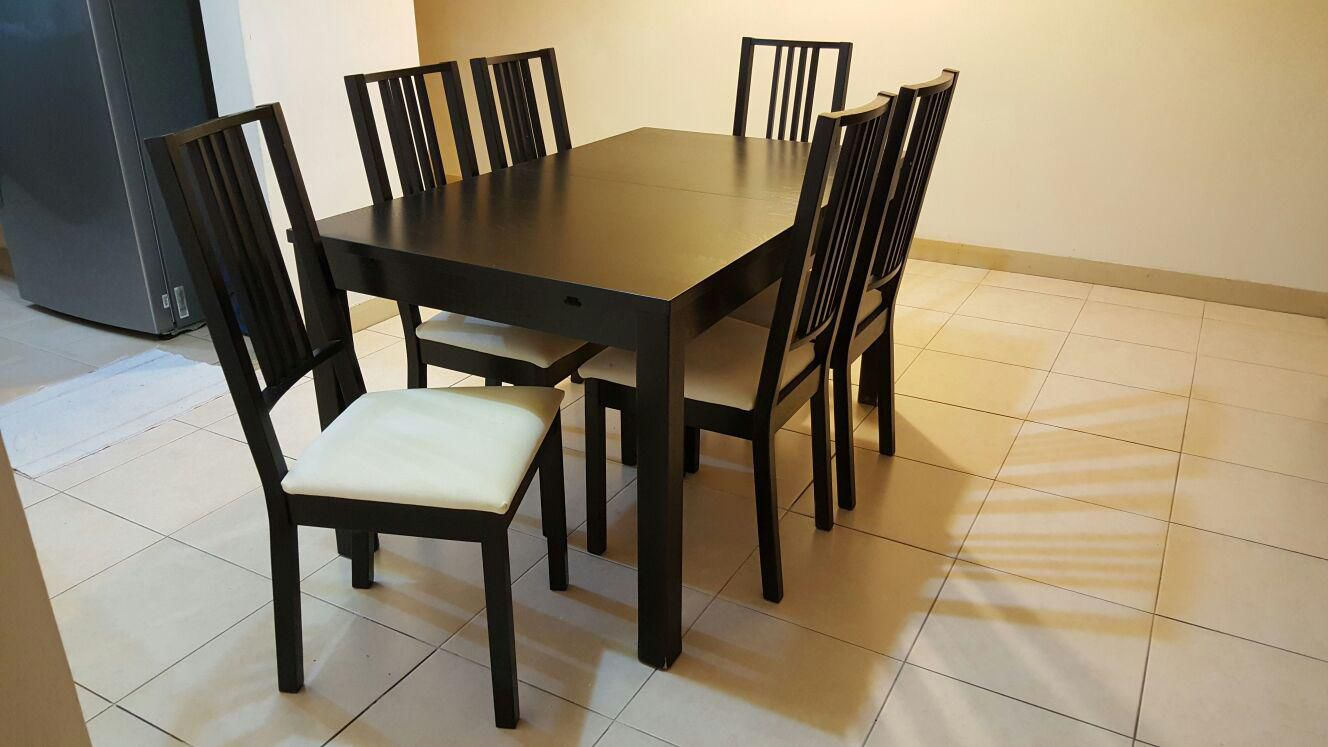 Furniture Ikea Dining Set For Sale Secondhand My