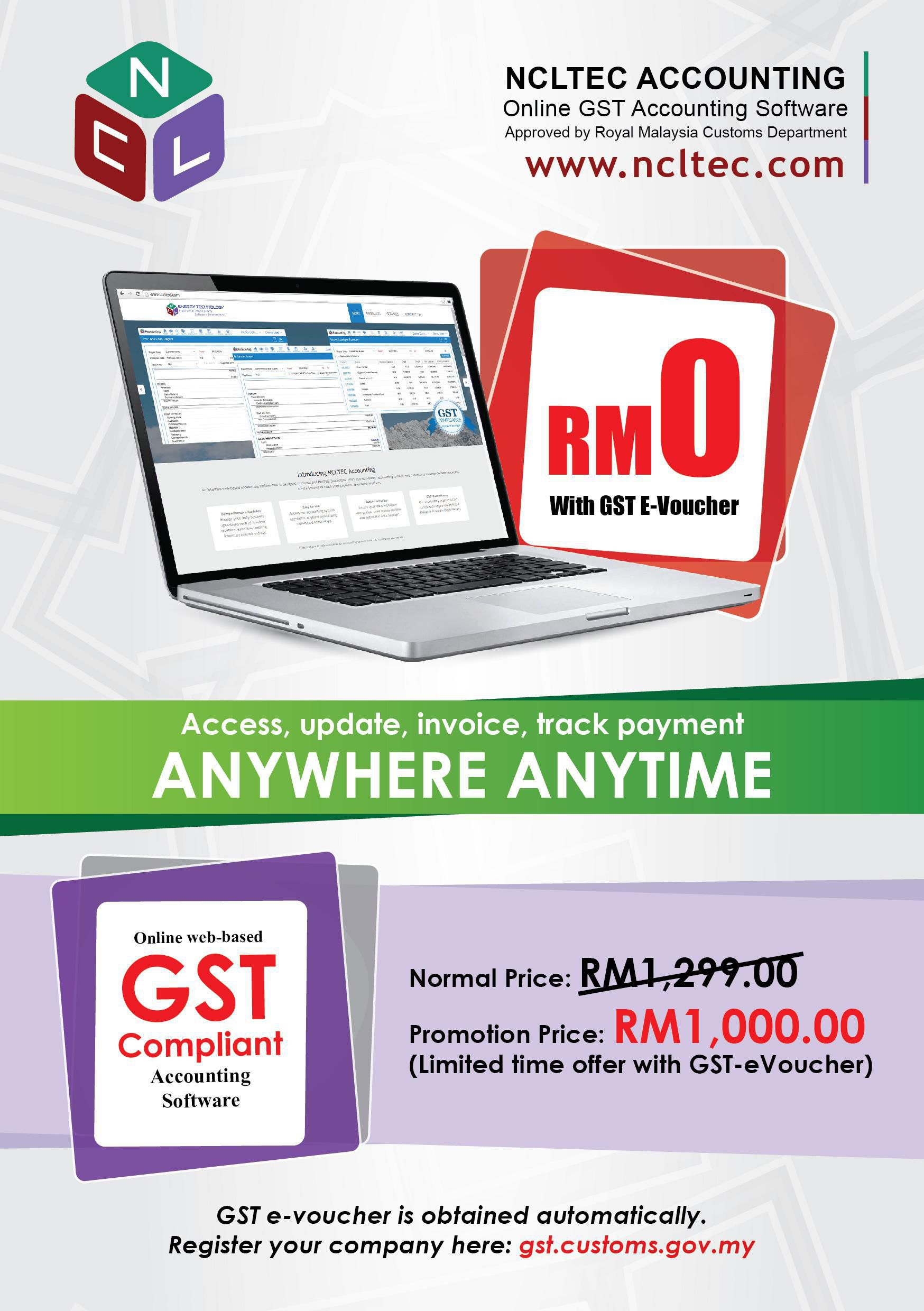Gst Compliance Online Accounting Software Web Based