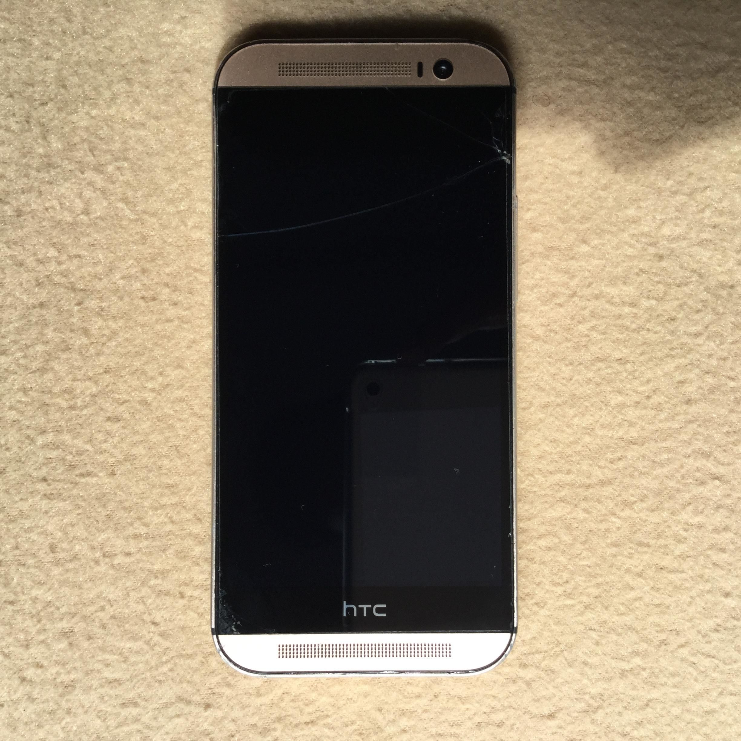 htc one m8 gold case. Free 32GB Memory Card And HTC Dot View Cover Case. - Can Trade-in With IPhone (5, 5s, 5c). One M8 16GB Gold Htc Case C