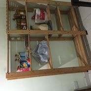 IKEA multipurpose shelf
