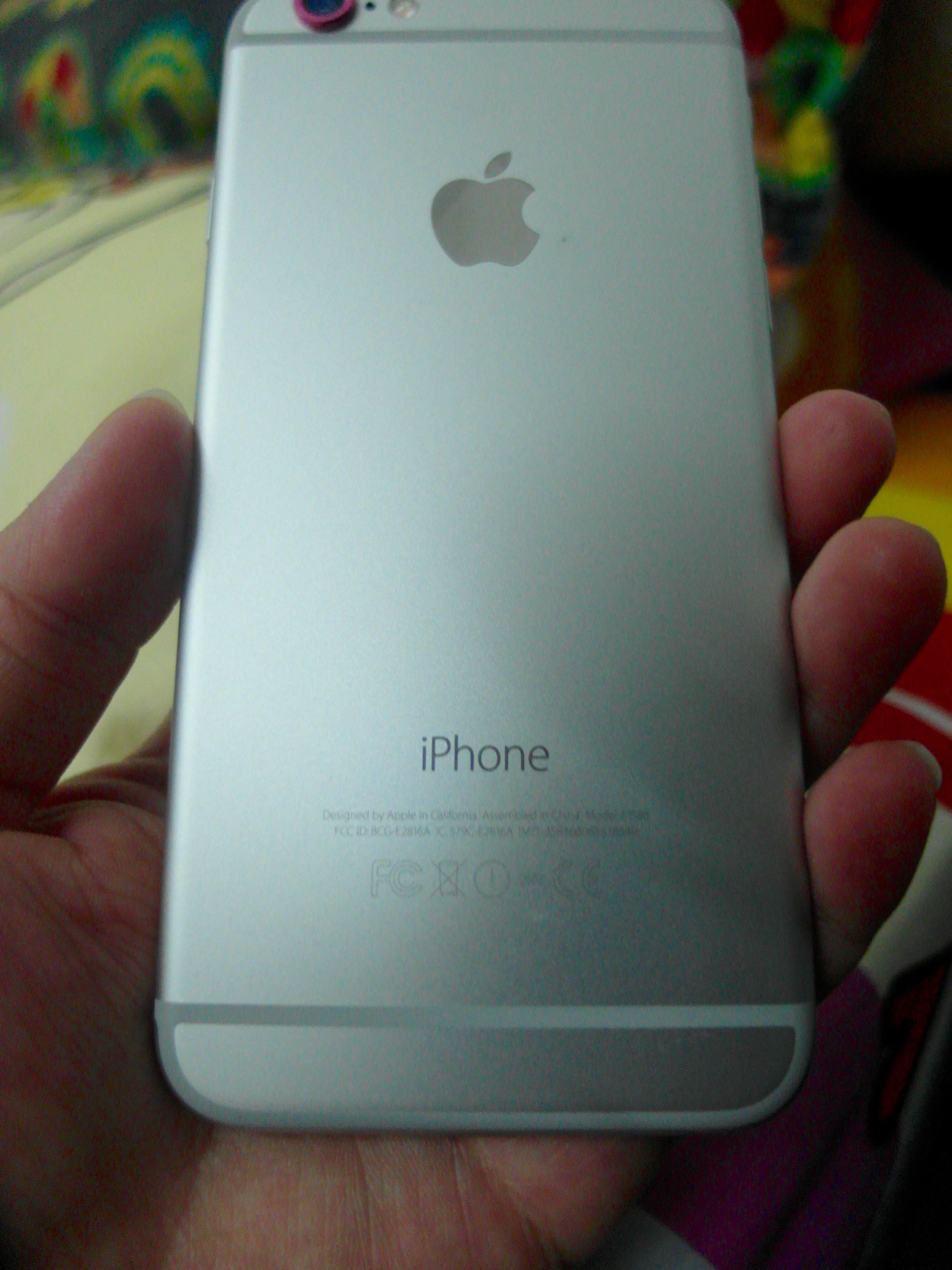silver iphone 6 iphone 6 silver secondhand my 12971