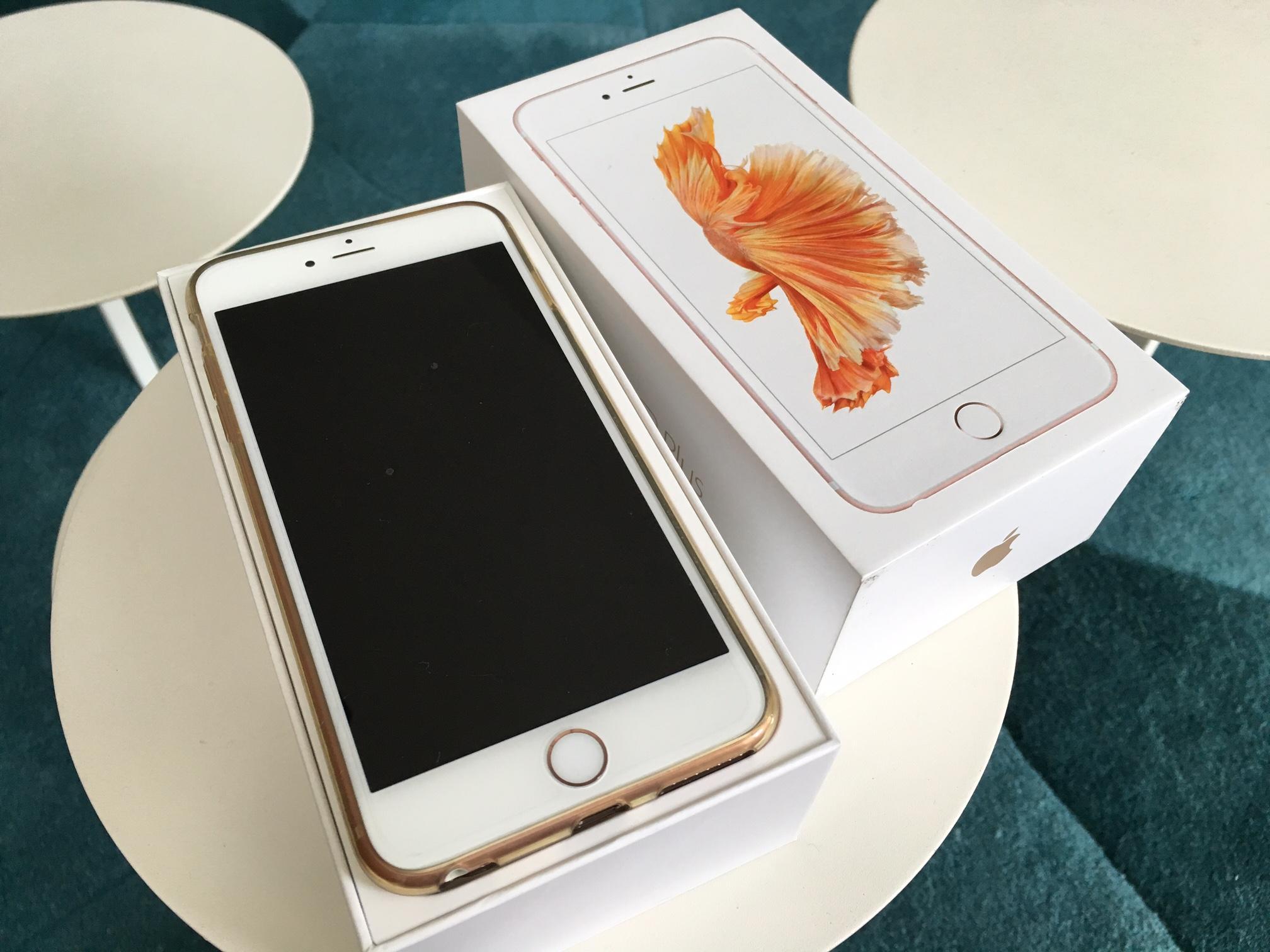 iphone 6s plus rose gold 16gb. Black Bedroom Furniture Sets. Home Design Ideas
