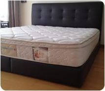 King Size Bed incl. therapy mattress