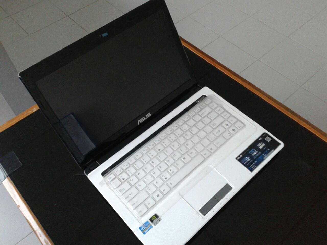 Laptop Asus A43s White Core I5