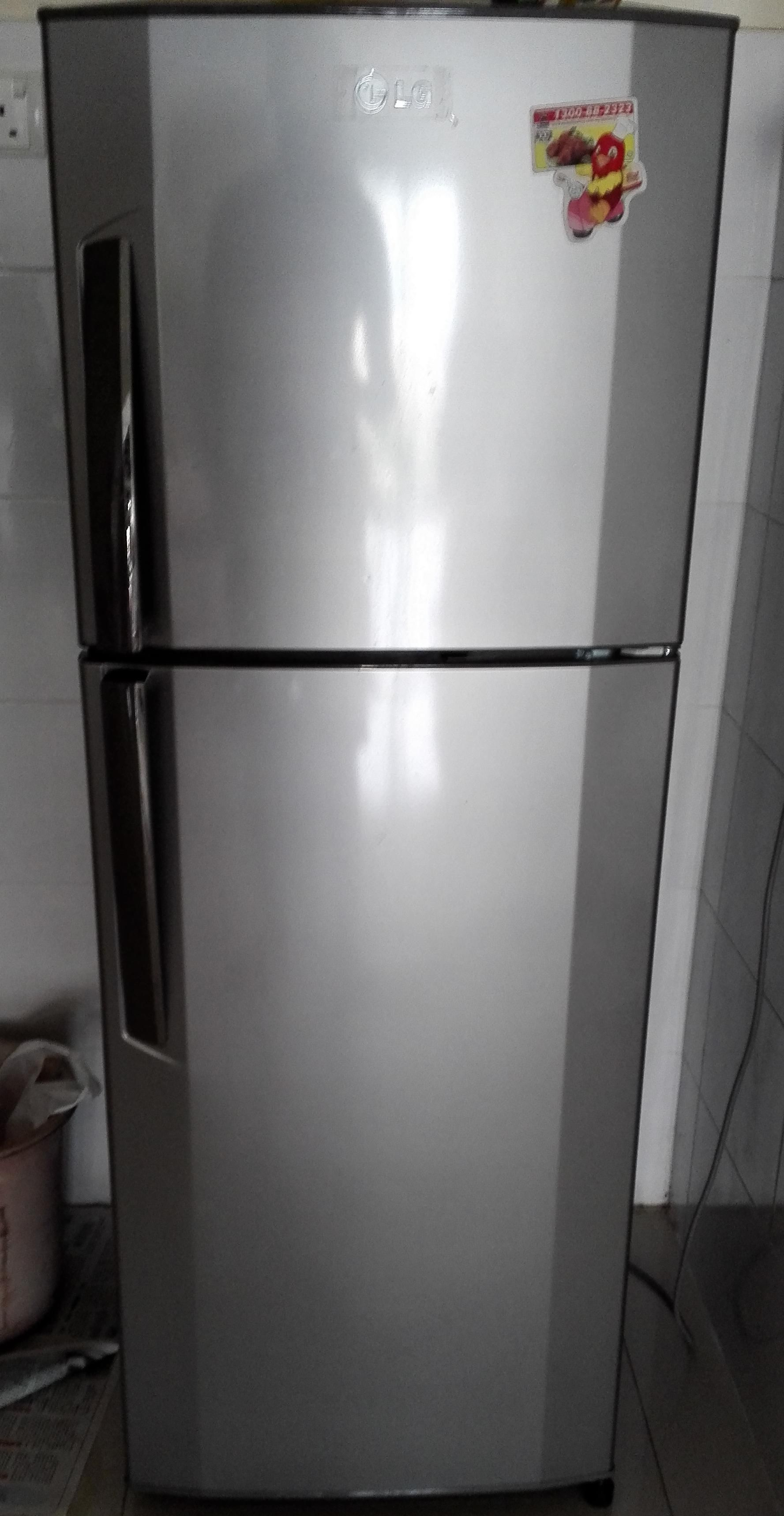 Lg Fridge 2 Doors For Sale Rm450 Used Secondhand My