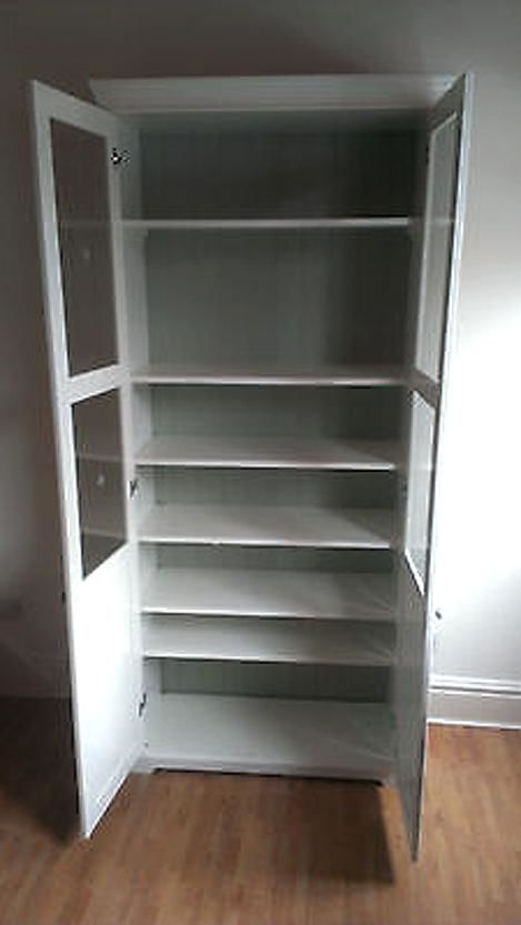 Liatorp Bookcase With Glass Doors Secondhand My