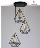 MODEL 3 IN 1 PENDANT LIGHT -READY STOCK NEW SET WITH BULB
