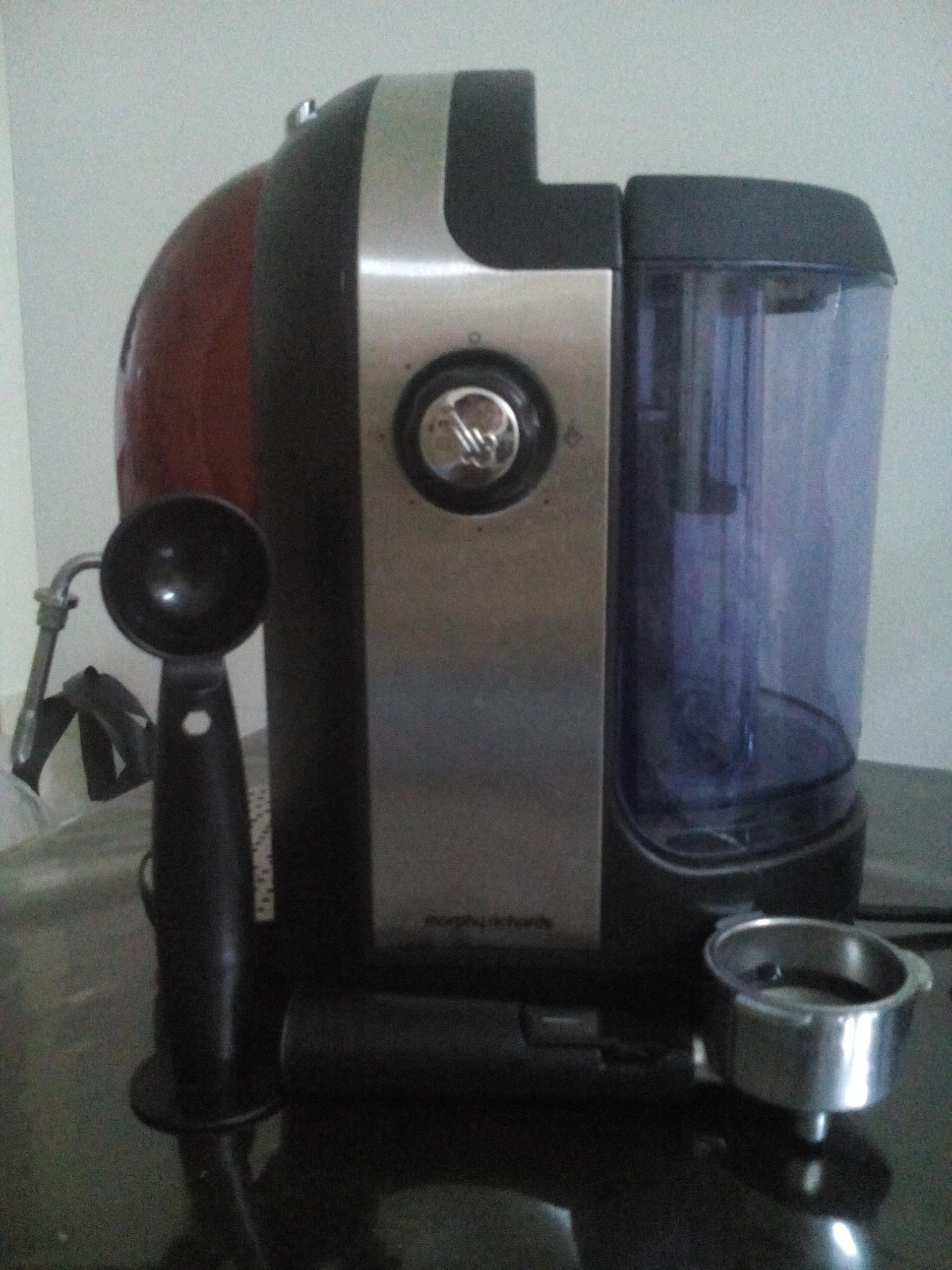 Morphy Richards Accent Coffee Maker Espresso - Red Secondhand.my