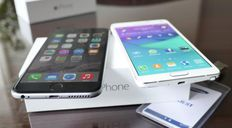 New Apple iPhone 6 and Samsung Galaxy S6