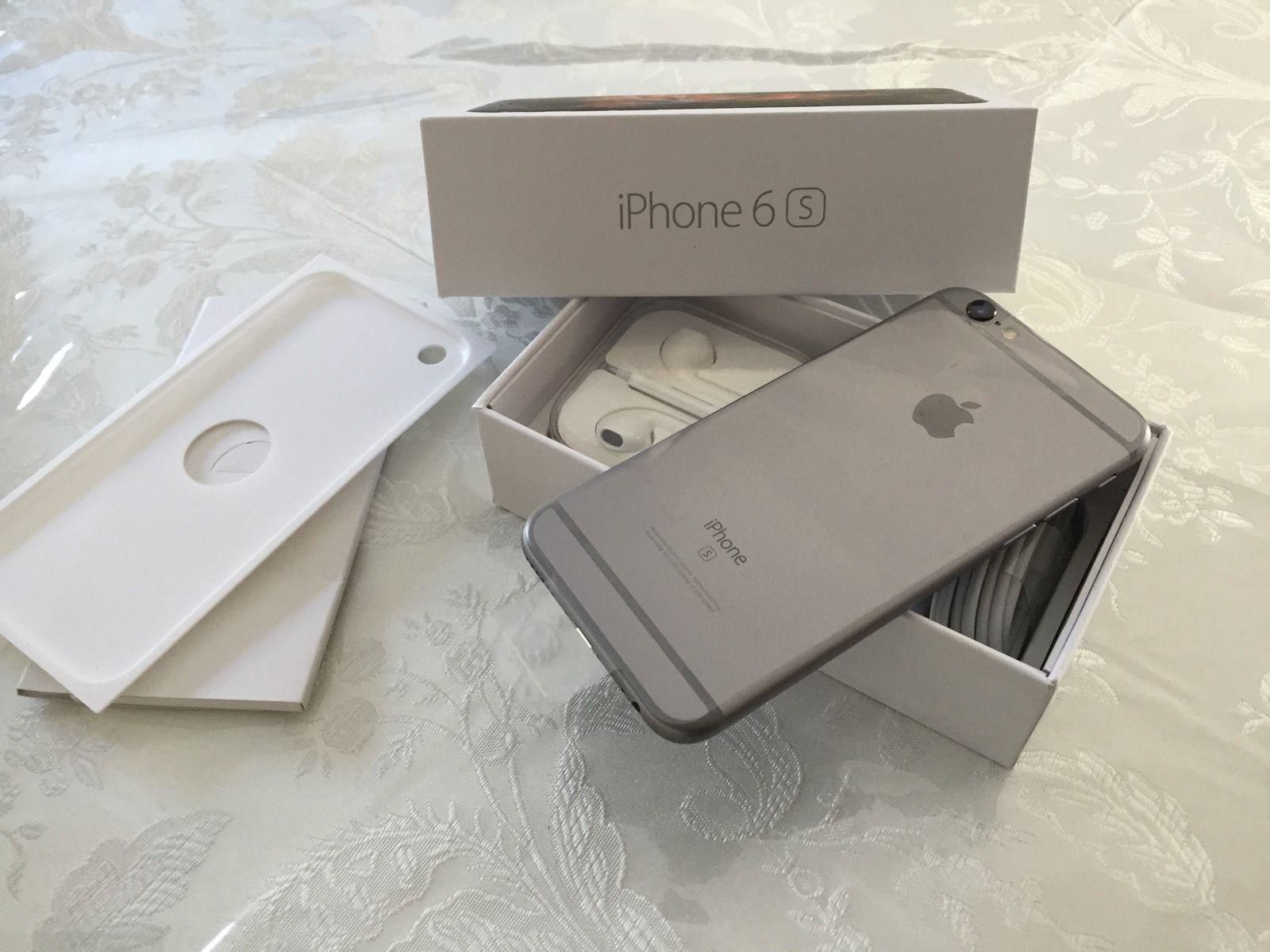 New Apple Iphone 6s 128gb Grey Unlocked For Sales
