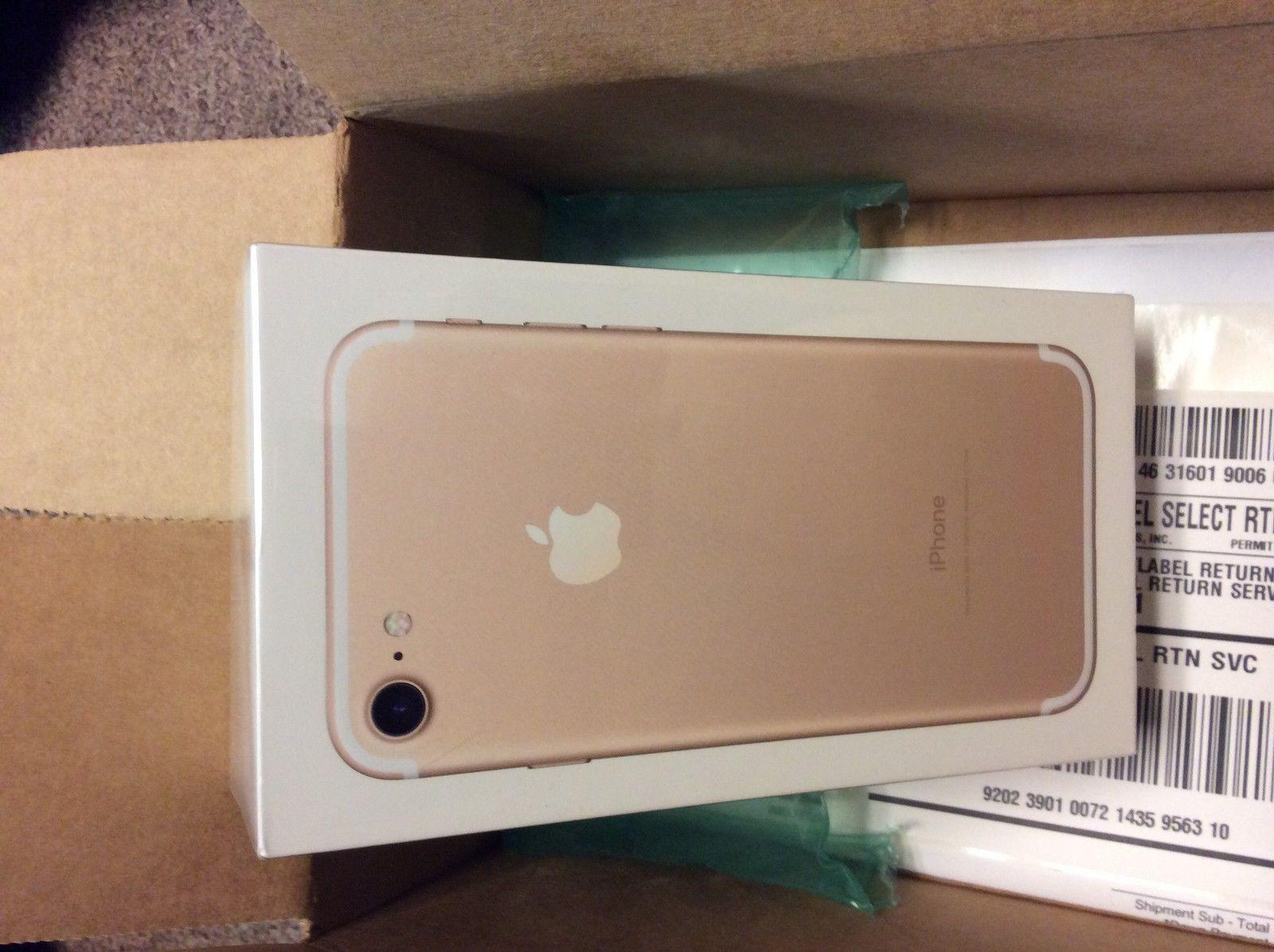 new apple iphone 7 32gb gold. Black Bedroom Furniture Sets. Home Design Ideas