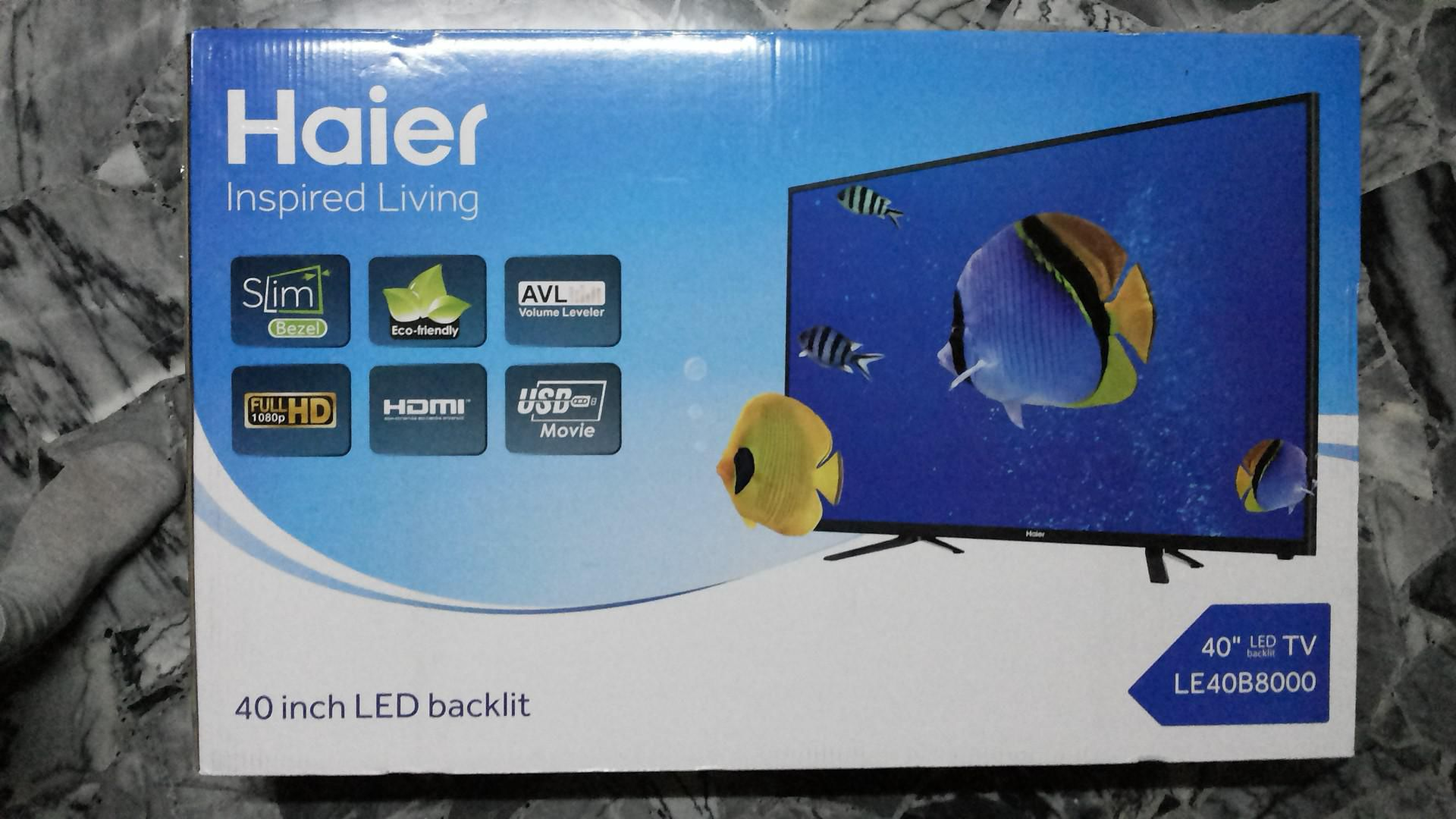 haier 32 inch led tv. [new] haier 40\ 32 inch led tv