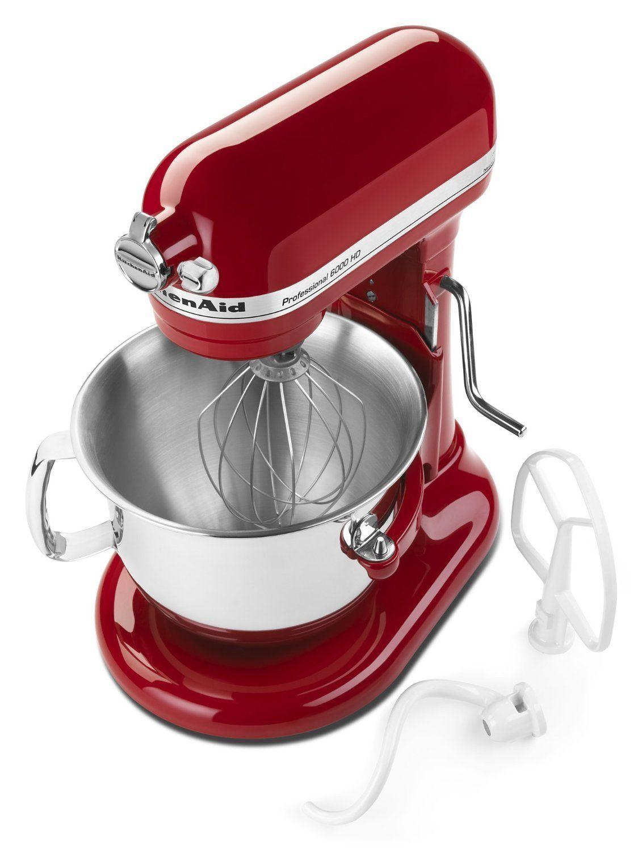 All Black Kitchenaid Mixer New Kitchenaid Ksm6573cer 6 Qt Professional 600 Hd Bowl