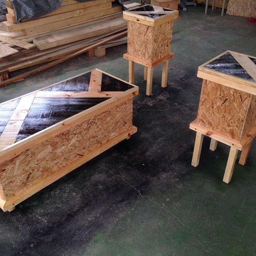 Perabot Pallet Pine Wood Secondhand My