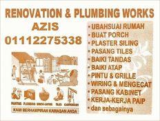 plumbing dan renovation 01112275338 azis taman permata