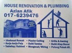 plumbing dan renovation 0176239476 lembah keramat