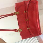 Preloved Versace Red Handbag