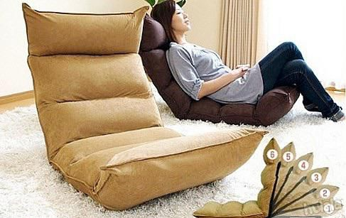 Preowned Foldable Memory Foam Futon Chair With Futon Nest Chair.