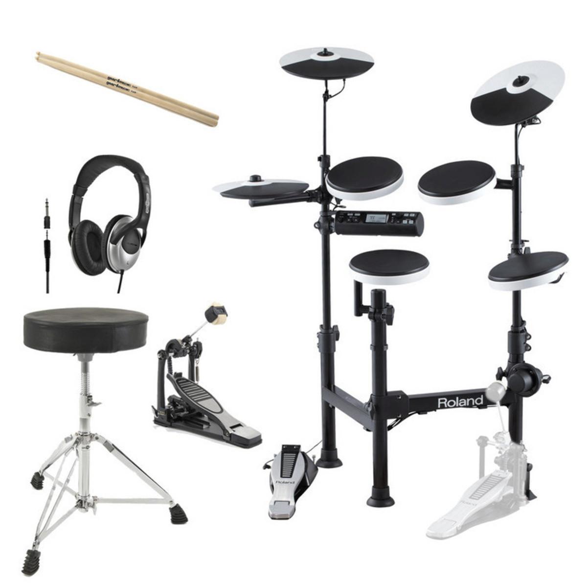 Roland TD-4KP V-Drums Portable Electronic Drum Kit