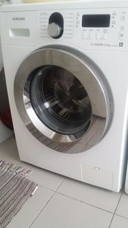 samsung eco bubble 8kg washing machine wf1804wpc with a. Black Bedroom Furniture Sets. Home Design Ideas