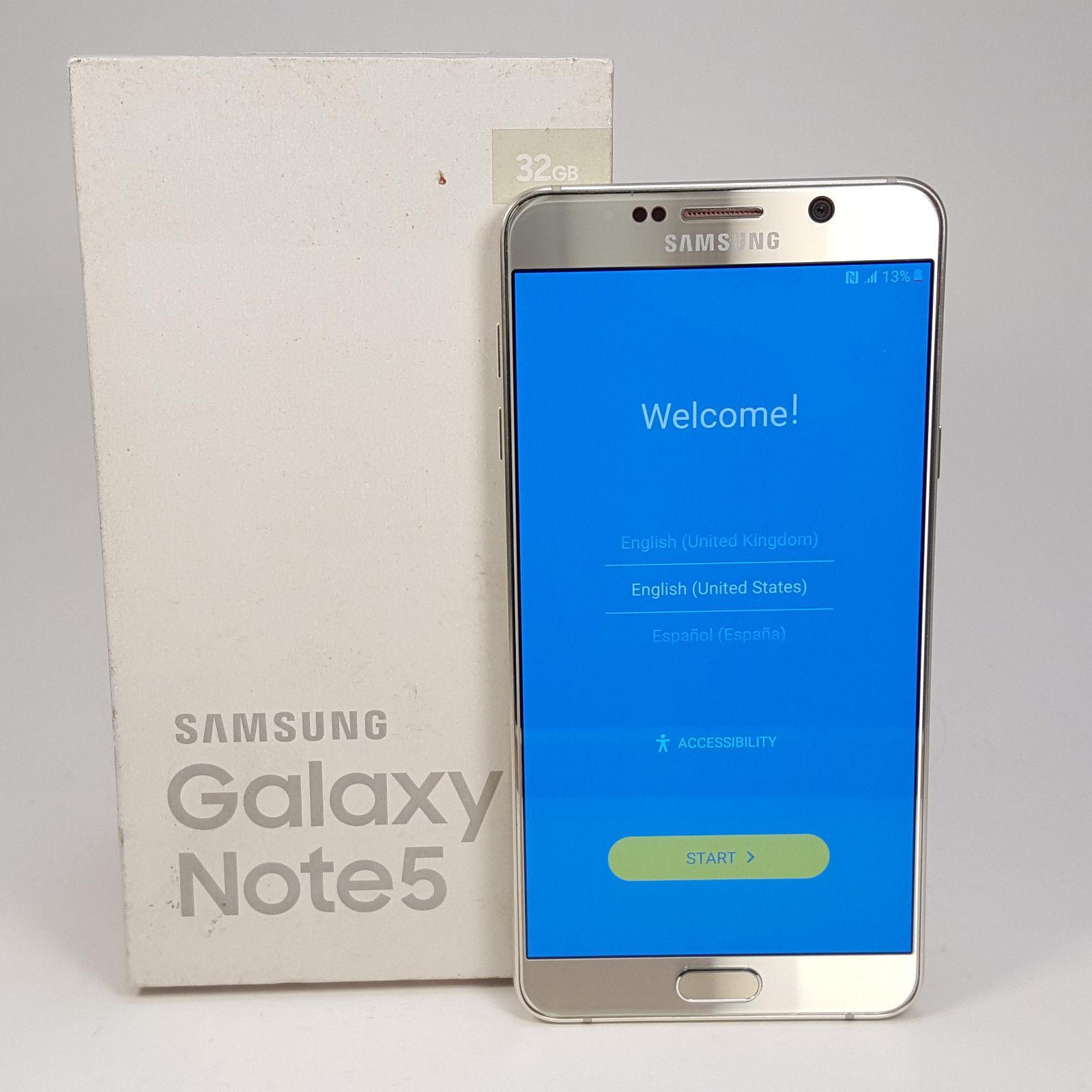 Samsung Galaxy Note 5 4 S5 Factory Unlocked Sim Free Smartphone