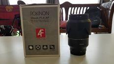 Samyang Lens 35mm F1.4 for Full Frame Sony E-Mount