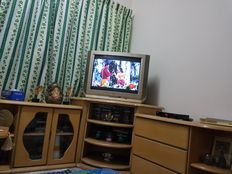Sofa, tv cabinet and dining table