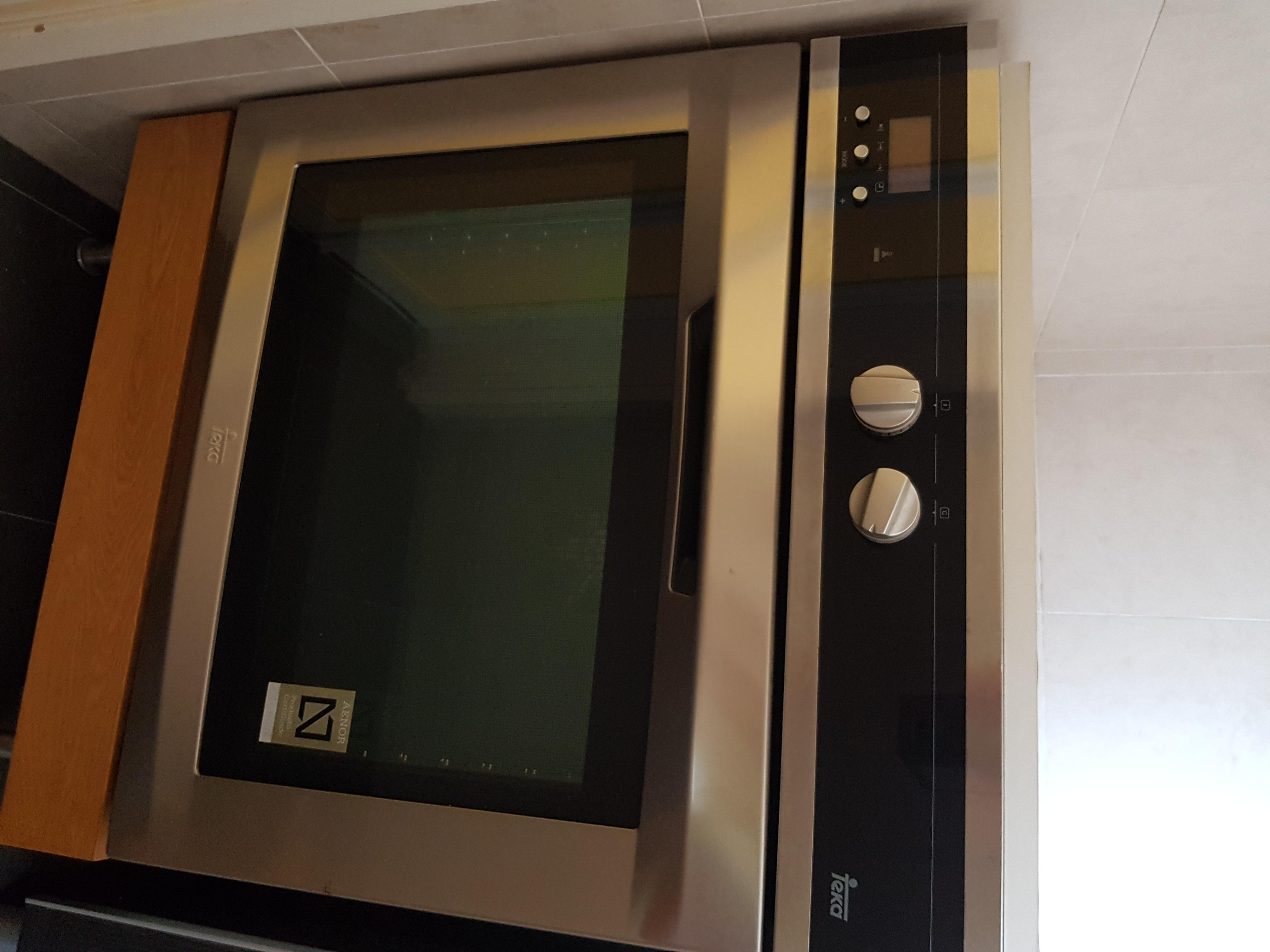 Base oven cabinets - Teka Electric Oven With Ikea Built In Cabinet Base