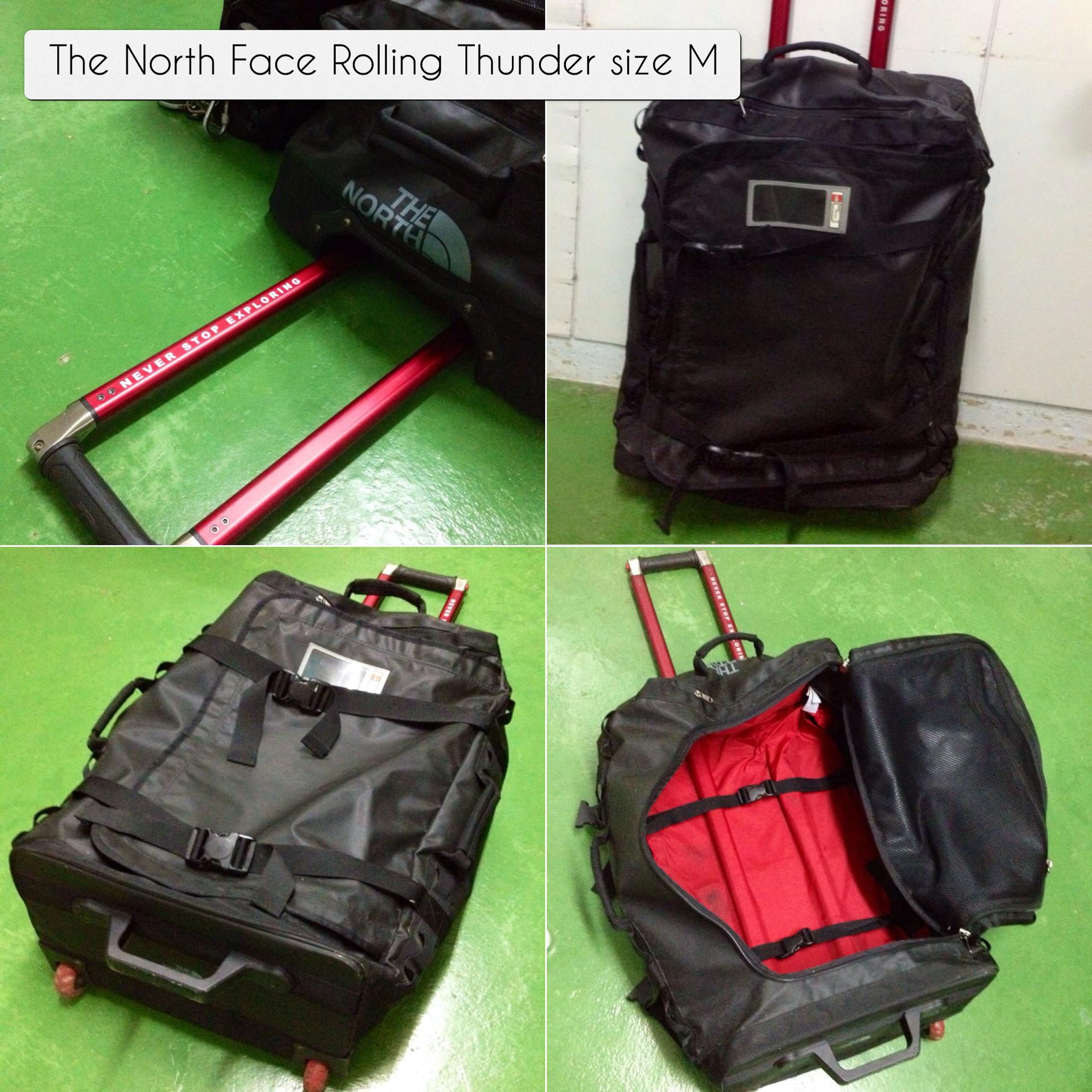 The North Face Rolling Thunder duffel(size M) 72L  e239d2b944469