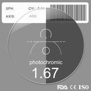Transition photochromic Lenses for myopia