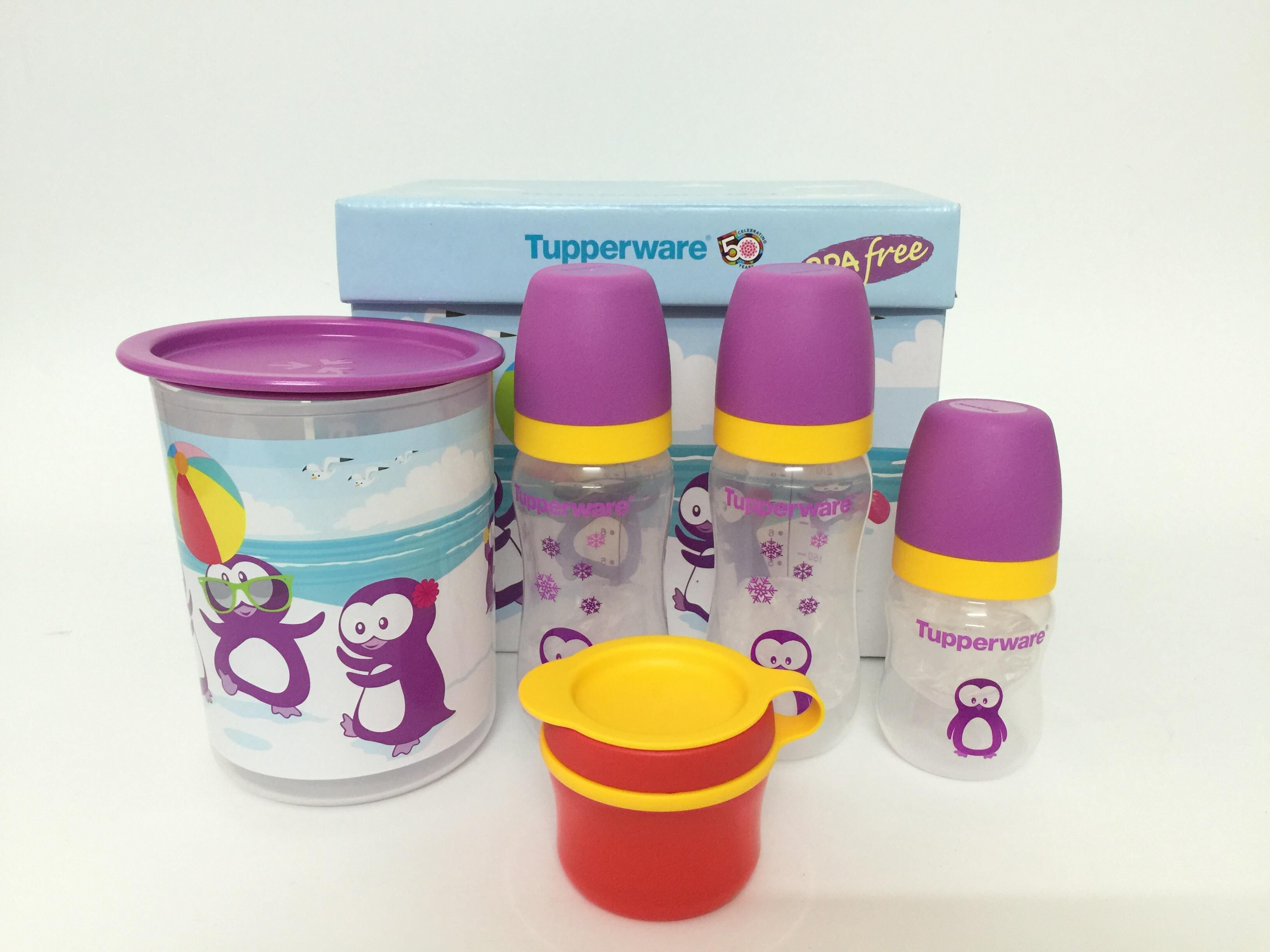 Tupperware Limited Edition Penguin Baby Gift Set