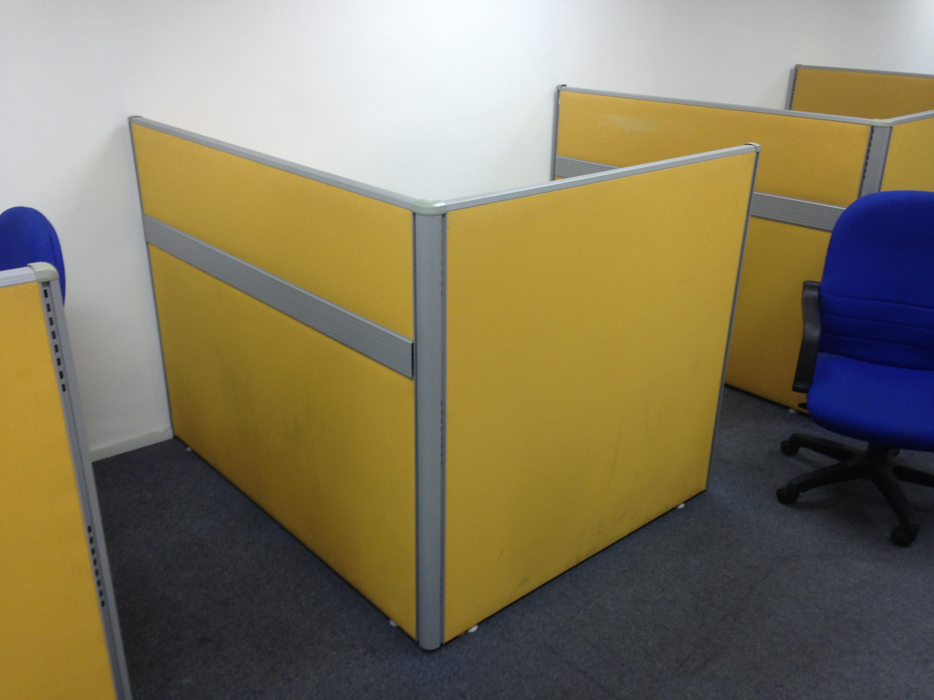 Used Office Partitions For Sale Pembahagi Meja Pejabat
