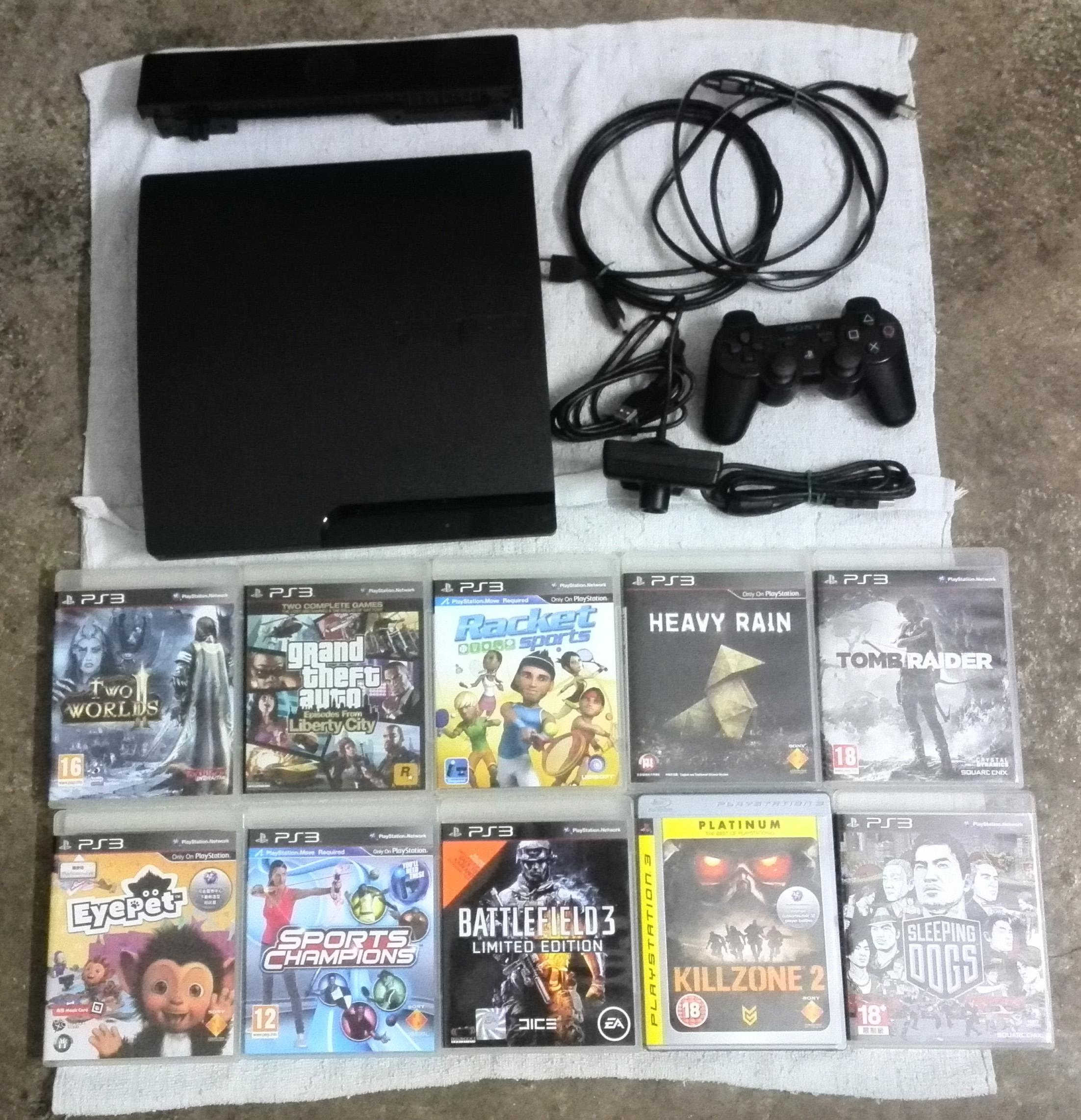 Used Ps3 Console Set Games For Sale Secondhandmy