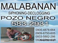 BULACAN MALABANAN SIPHONING POZO NEGRO SERVICES 583-29-31