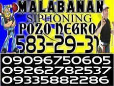 caloocan malabanan siphoning services 5832931/09262782537