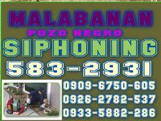 Pangasinan malabanan siphoning pozo negro services 09096750605