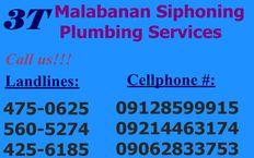 RENZO MALABANAN DECLOGGING SIPHONING SERVICES 475-0625/09128599915/09062833753