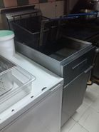Commercial Deep Fryer with 2 drainers @ SGD700